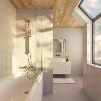 Sanitaire - Plomberie Ensemble de douche - IDEALRAIN EVO - barre 90 cm et douchette ronde O 12.5 cm 3J - Chrome - Ideal Standard