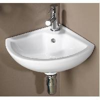 Sanitaire - Plomberie Lave mains en porcelaine Pivoine