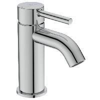 Sanitaire - Plomberie Mitigeur lavabo monocommande avec bonde metal - KOLVA - Chrome - Ideal Standard