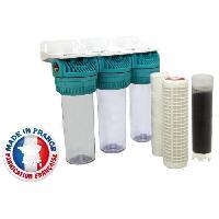 Sanitaire - Plomberie Station de filtration triple pour eau de pluie