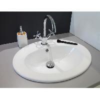 Sanitaire - Plomberie Vasque en porcelaine Zoe Blanc Aqua+