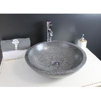 Sanitaire - Plomberie Vasque en terrazzo Petra gris