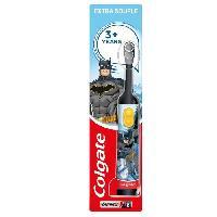 Sante - Hygiene COLGATE Brosse a dents électrique a piles enfant Batman Extra Souple