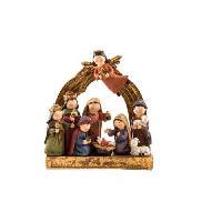 Santon - Figurine Religieuse De Noel Santon de Noel en resine 20x6.5x21 cm