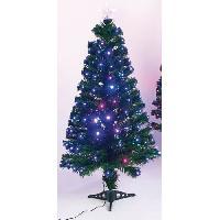 Sapin De Noel - Arbre De Noel Sapin de Noel Cameleon - H 120 cm - Lumiere changeante rouge et bleu