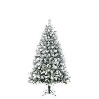 Sapin De Noel - Arbre De Noel Sapin de Noel Chandler - PVC - H 185 x O 104 cm - 517 branches - Vert givre