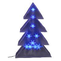 Sapin De Noel - Arbre De Noel Sapin de Noel LED - 1.5 m - Bleu