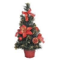 Sapin De Noel - Arbre De Noel Sapin de Noel artificiel - 40 cm - Rouge
