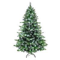 Sapin De Noel - Arbre De Noel Sapin de Noel artificiel Luminosa 200 LED - 787 branches - 180 cm - Blanc