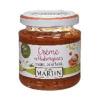 Sauce Chaude Creme aubergines bio 110g