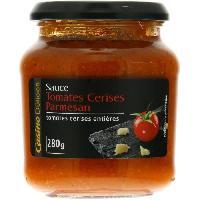 Sauce Chaude DELICES Sauce Tomates cerises et Parmesan - 280g