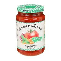 Sauce Chaude Sauce tomate au basilic bio - 350 g