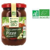 Sauce Chaude Sauce tomate pour pizza. pates ou riz bio - 200 g