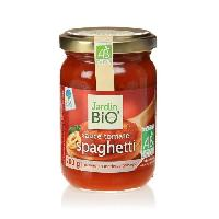 Sauce Chaude Sauce tomate spaghettis bio - 200g