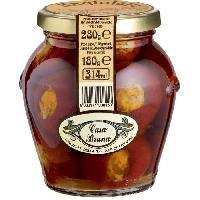 Sauce Exotique - Pimentee CASA BRUNA Piments farcis aux anchois et capres - 180 G