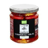 Sauce Exotique - Pimentee CASA RINALDI Piment farci aux legumes bio - 180 g