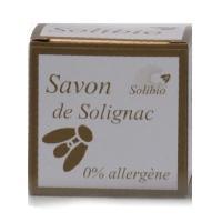 Savon - Pain De Savon - Syndets SOLIBIO Savonnette - Neutre - Sans parfum - Sans aucun allergene - Bio - 100 g