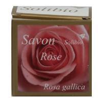 Savon - Pain De Savon - Syndets SOLIBIO Savonnette - Rose - Bio - 100 g