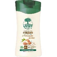 Savon - Shampoing - Bain Moussant - Huile De Bain L'Arbre Vert Bien-etre Creme Douche Amande Douce aux Extraits d'Amande Douce Bio 250 ml
