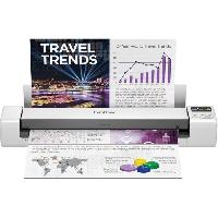Scanner BROTHER Scanner Mobile DS-940 - A4 - Recto-Verso - WiFi - Batterie Integree - 15 ppm - Couleur - Noir-Blanc - Scan to USB