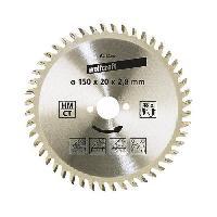 Scie - Lame De Scie WOLFCRAFT Lame scie circulaire CT 36 dents - Ø130x16mm