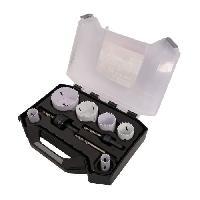 Scie Trepan - Scie Cloche Mallette 9 trepans bi-metal o 19-68 mm pour usage courant