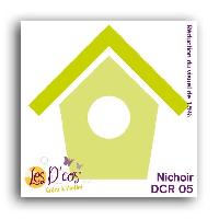 Scrapbooking Die Nichoir