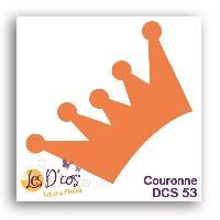 Scrapbooking LES D'COS DE TOGA Die Couronne