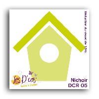 Scrapbooking LES D'COS DE TOGA Die Nichoir
