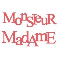 Scrapbooking MADEMOISELLE TOGA Die Monsieur et Madame