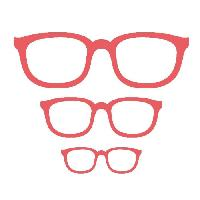 Scrapbooking MADEMOISELLE TOGA Dies Lunettes - 3 tailles