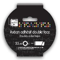Scrapbooking Ruban Adhesif Double Face Dechirable - 33m