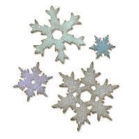 Scrapbooking SIZZIX Matrice de découpe Bigz taille Large - Flocon de neige