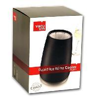 Seau A Glacons - Rafraichisseur Wine Cooler Elegant Noir
