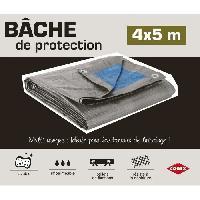 Securite - Protection Chantier Bâche de protection 4x5M
