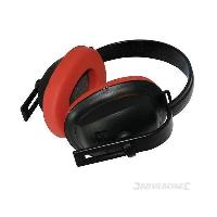 Securite - Protection Chantier Casque anti-bruit compact SNR 22dB Silverline
