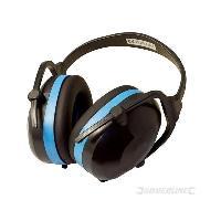 Securite - Protection Chantier Casque anti-bruit pliable SNR 30 dB Silverline