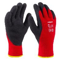 Securite - Protection Chantier MEISTER Gants hiver T10 - Acryl - Rouge