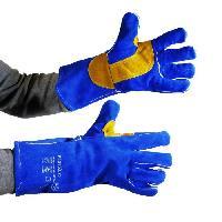 Securite - Protection Chantier PROWELTEK Gant de soudeur anti-chaleur bricolage doublure coton