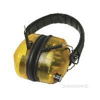 Securite - Protection Chantier SILVERLINE Casque anti-bruit électronique SNR 30 dB