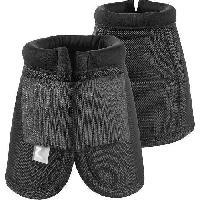 Securite - Protection Cloches hautes pour chevaux. taille L. noir