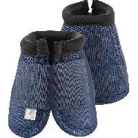 Securite - Protection Cloches hautes pour chevaux. taille XXL. bleu