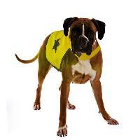 Securite - Protection DUVO Gilet de securite reflechissant - 56 cm - Jaune fluo - Pour chien
