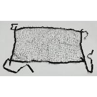 Securite - Protection Filet Pare-chien renforce - Noir - 130x87cm