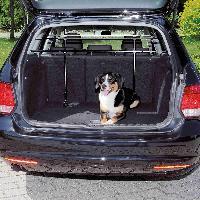 Securite - Protection Grille de separation voiture avec angle largeur 85-140cm H75-110cm noir Trixie