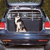 Securite - Protection Grille de separation voiture largeur 105-172cm H46-60cm argent noir Trixie
