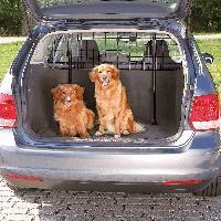 Securite - Protection Grille de separation voiture largeur 125-140cm H63-135cm noir Trixie