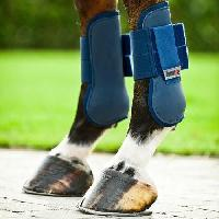 Securite - Protection Guetres de protection pour chevaux. taille Poney. bleu