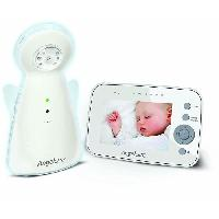 Securite Bebe AC1320 Babyphone Moniteur de sons et videos - Blanc