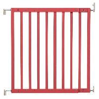 Securite Bebe Barriere Color Pop - rouge corail